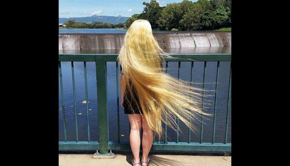 Ella siempre está buscando nuevas ideas para los próximos pintados de su pelo. (Foto: Treelocks/Instagram)
