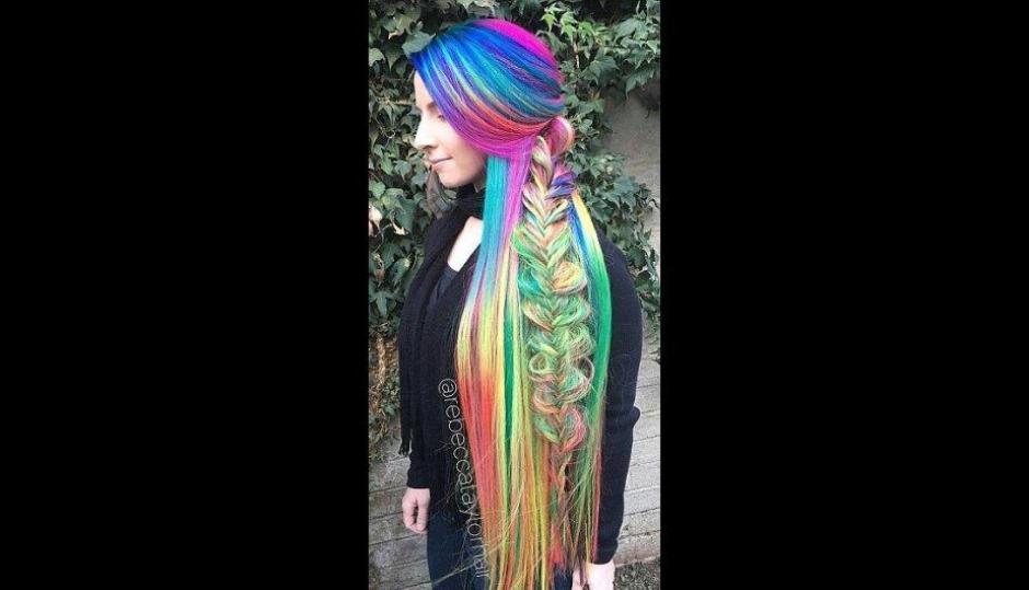 Su cabello es totalmente natural, sin extensiones. (Foto: Treelocks/Instagram)