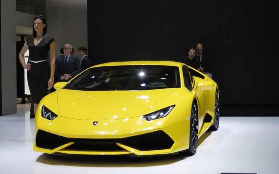 Lamborghini Huracan: Fue develado el 23 de abril en una ceremonia donde se mostraron otros modelos delLamborghini. (Foto:china.org.cn)