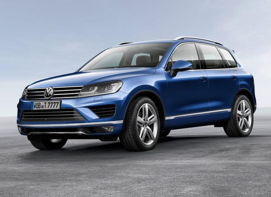 Volkswagen acudió a China para presentar al mundo la versión renovada del Touareg, su todoterreno más grande. (Foto:autocasion.com)