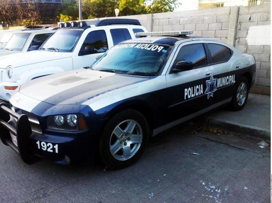 Una patrulla clonada de la Policía Municipal estaba en propiedad del Chapo Guzmán. (Foto:La Reforma)