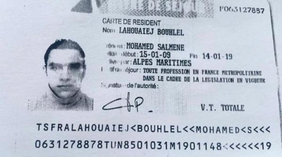 El autor de la masacre es un tunecino instalado en Francia identificado como  Mohamed Lahouaiej Bouhlel. (Foto: Infobae)