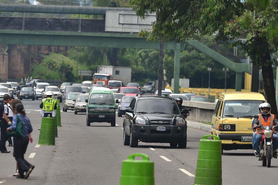 Se recomienda también utilizar el vehículo solo si es necesario. (Foto: Archivo/Soy502)