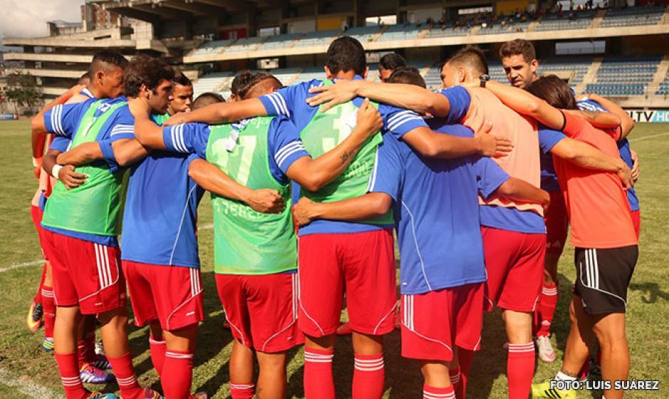 El equipo de Nacho no pudo remontar el marcador contra el Deportivo Táchira. (Foto: Atlético Venezuela)