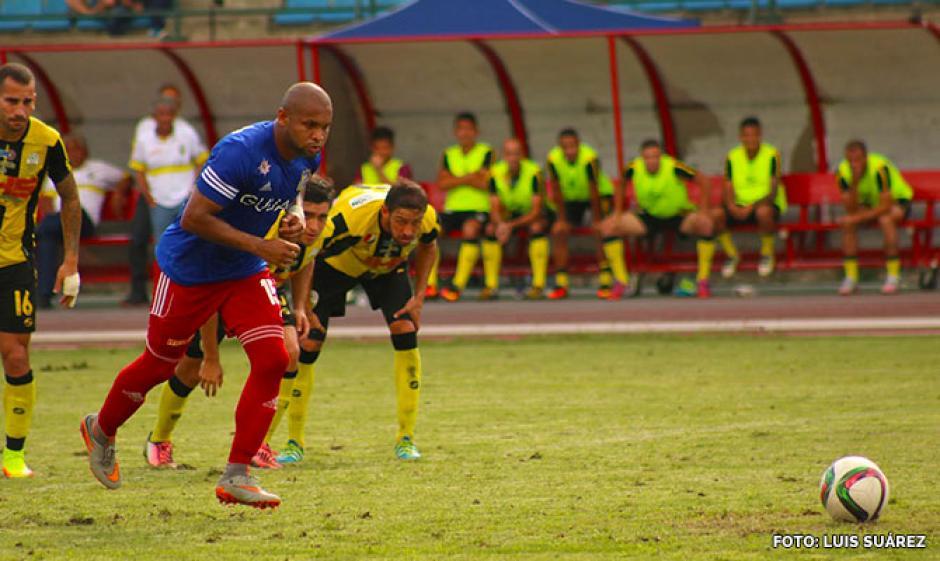 """""""Cafú"""" Arismendi abrió el marcador para el Atlético Venezuela. (Foto: Atlético Venezuela)"""