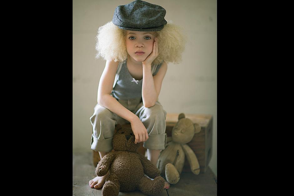 Ava de 8 años ya es modelo y actriz. (Foto: TheAvaClarke.com)