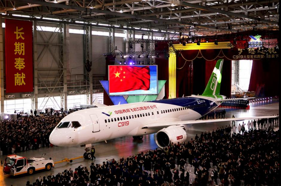 El aviónaspira competir en la próxima década con Airbus y Boeing por el mercado aeronáutico mundial. (Foto: info7.com)
