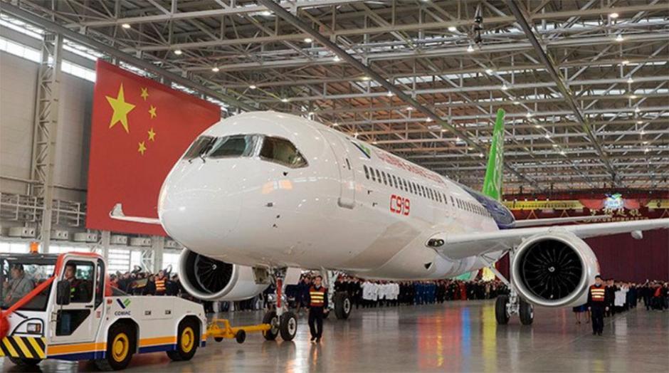 El C919 puede llevar entre 158 y 174 pasajeros, en función de las distintas configuraciones posibles, con una autonomía de entre 4, 075 y 5, 555 kilómetros. (Foto: info7.com)