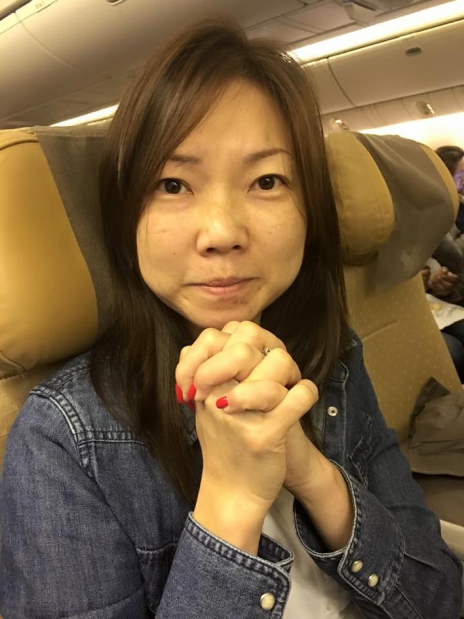 Una de las pasajeras compartió varias imágenes. (Foto: premiummall.sg/Facebook)