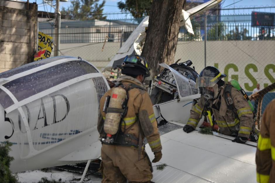 Los paramédicos reportaron tres heridos. (Foto: Wilder López/Soy502)