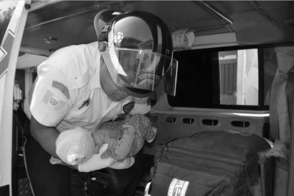 Una bebé de cinco meses de edad fue herida tras un ataque armado. (Foto: Twitter/Bomberos Voluntarios)