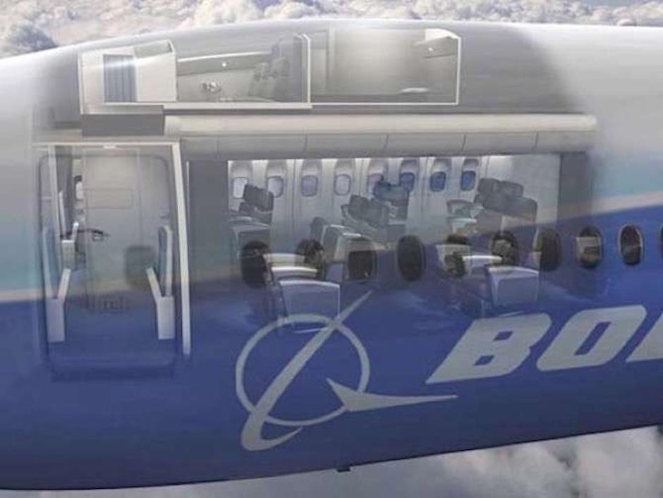 Estos cuartos están ubicados arriba de los asientos de los pasajeros. (Foto: The Chive)