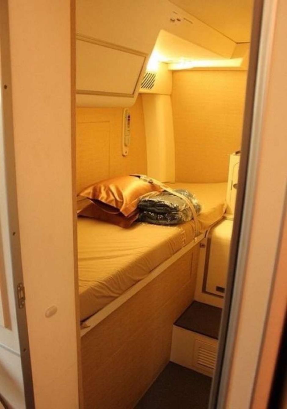 Así lucen las camas del crew. (Foto: The Chive)