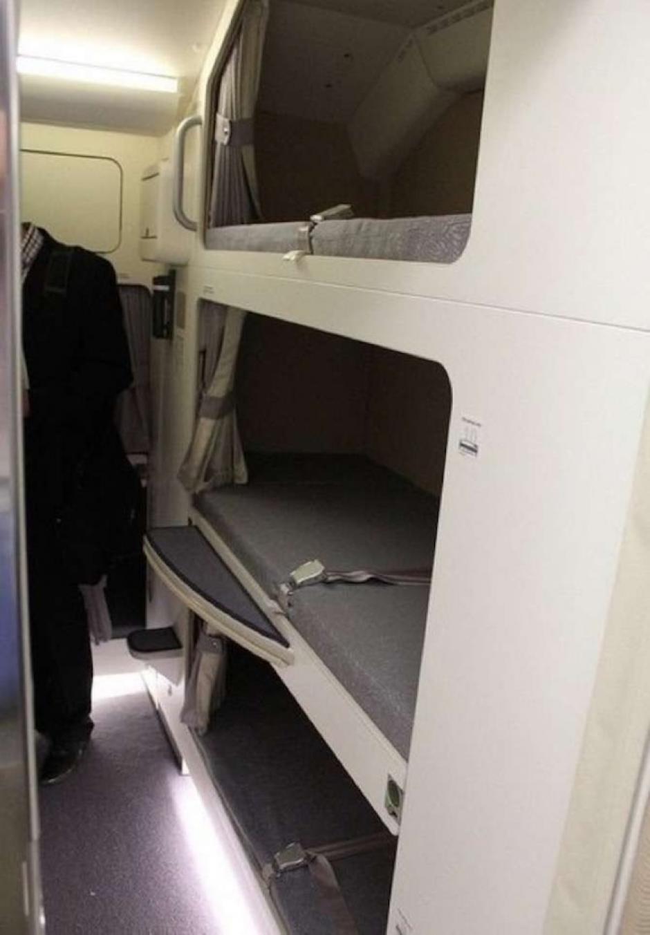 El número de camas depende de la aerolínea. (Foto: The Chive)