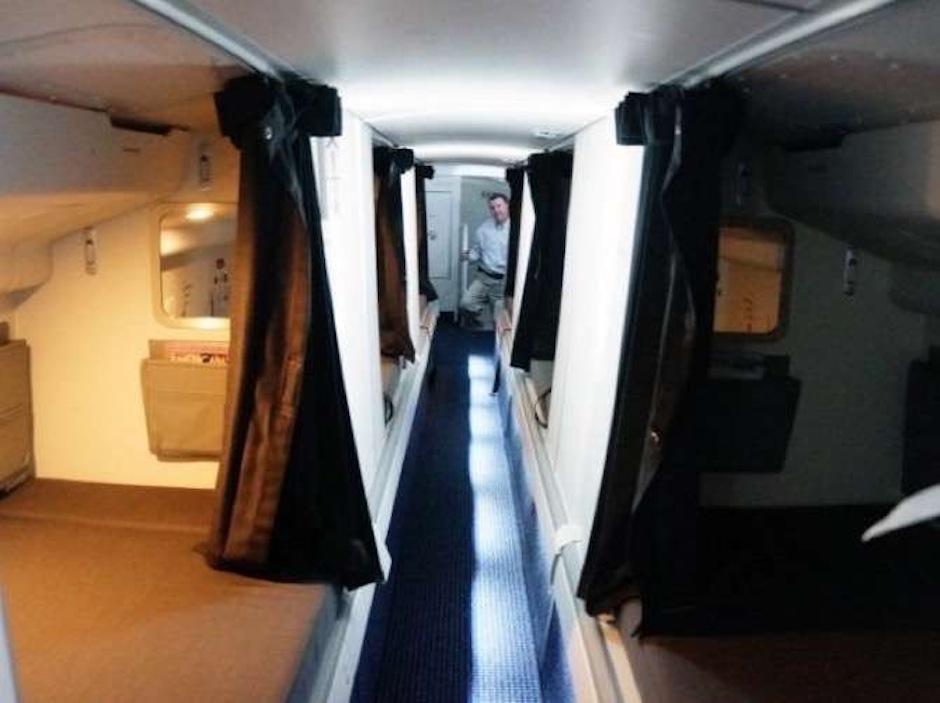 Estos espacios liberan el estrés del vuelo. (Foto: The chive)