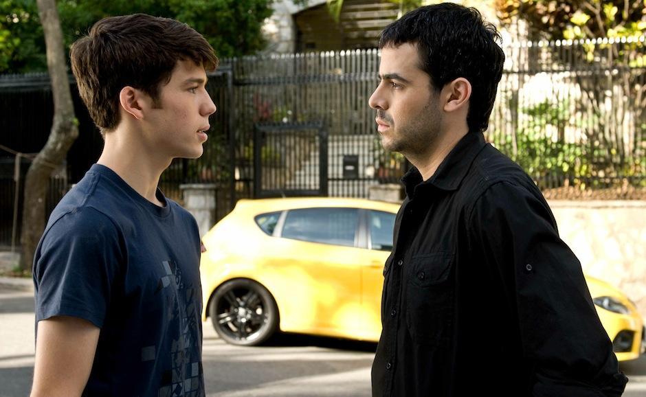 """""""Azul y no tan rosa"""", película de Miguel Ferrari, habla acerca de la vida de una pareja de homosexuales y el reencuentro de un hijo con su padre. (Foto: Image Nation)"""