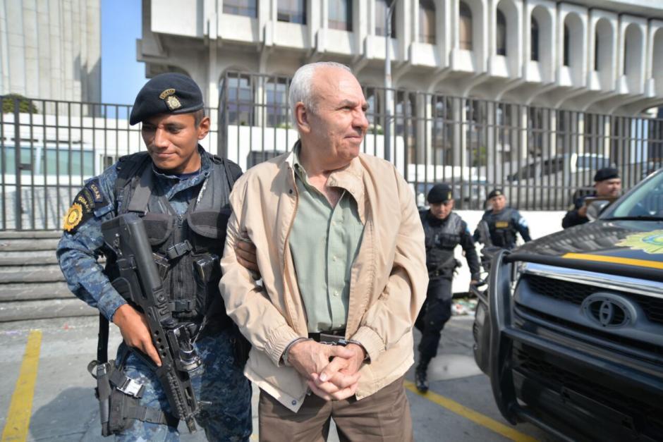 Max Roberto Burgos Faillace fue detenido por financiamiento electoral ilícito. (Foto: Wilder López/Soy502)