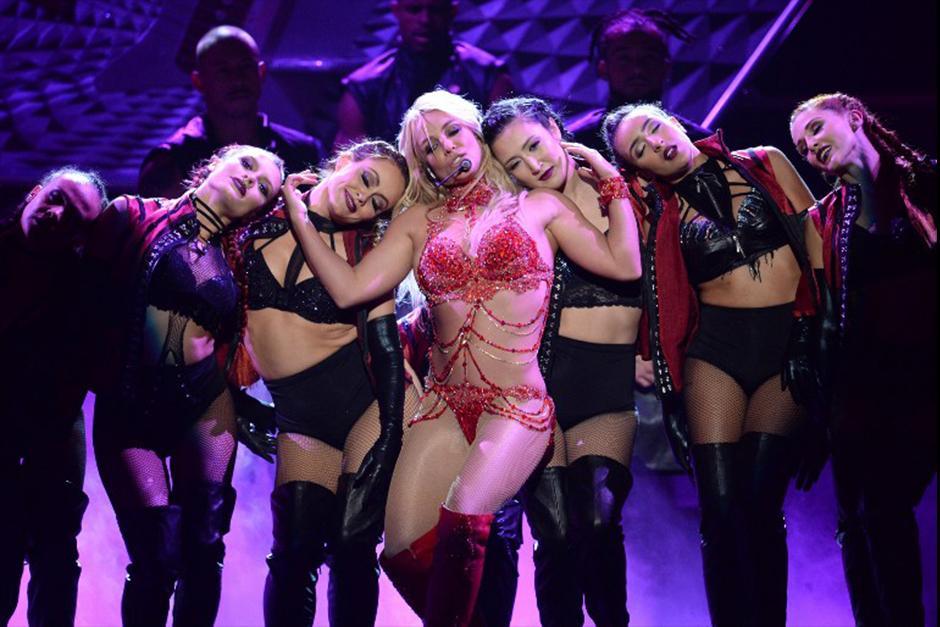 A sus 34 años, Britney Spears da un espectáculo de primera. (Foto: AFP)