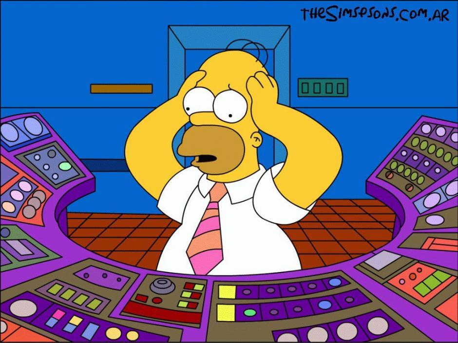 Homero trabaja como inspector de seguridad en la planta de energía nuclear de Springfield. (Foto: thesimpson.com.ar)