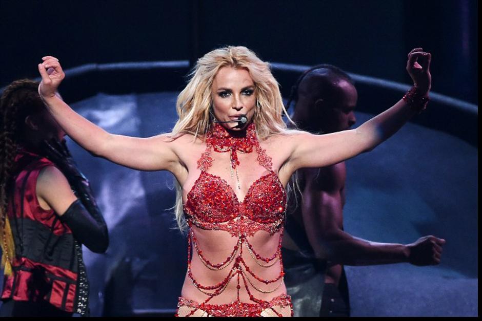 Britney cantó sus nuevas canciones y también las clásicas. (Foto: AFP)