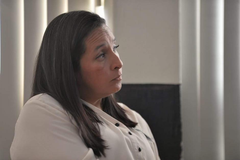 Claudia María Bolaños, ex asistente de Pedro Muadi acusada de asociación ilícita y peculado. (Foto: Wilder López/Soy502)