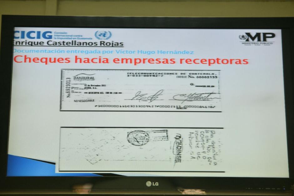 El MP también utilizó información proporcionada por el contador de Monzón, Víctor Hugo Hernández. (Foto: Wilder López/Soy502)