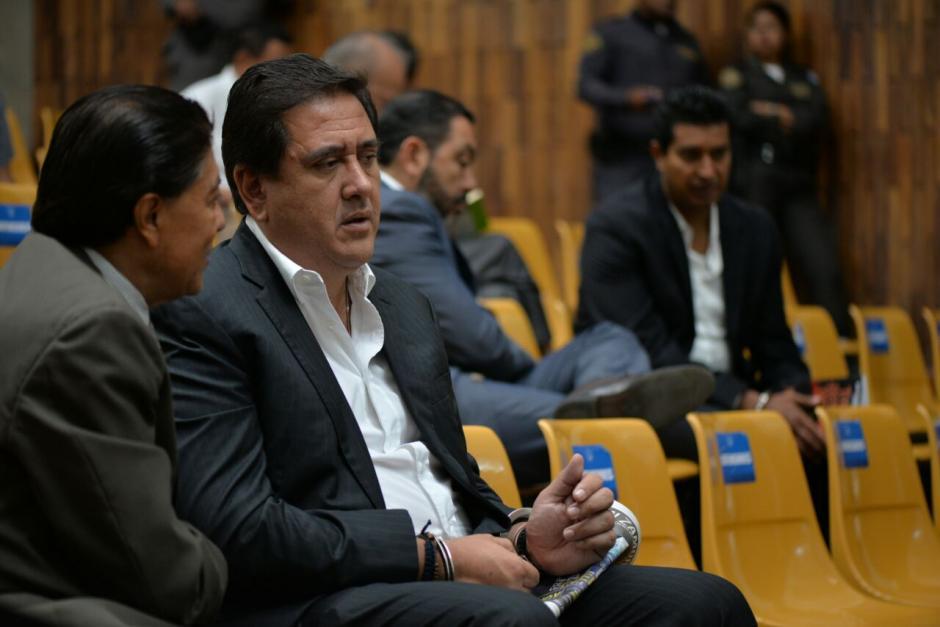 Gustavo Alejos seguirá en prisión, debido a que está ligado a proceso por el caso Negociantes de la Salud. (Foto: Wilder López/Soy502)