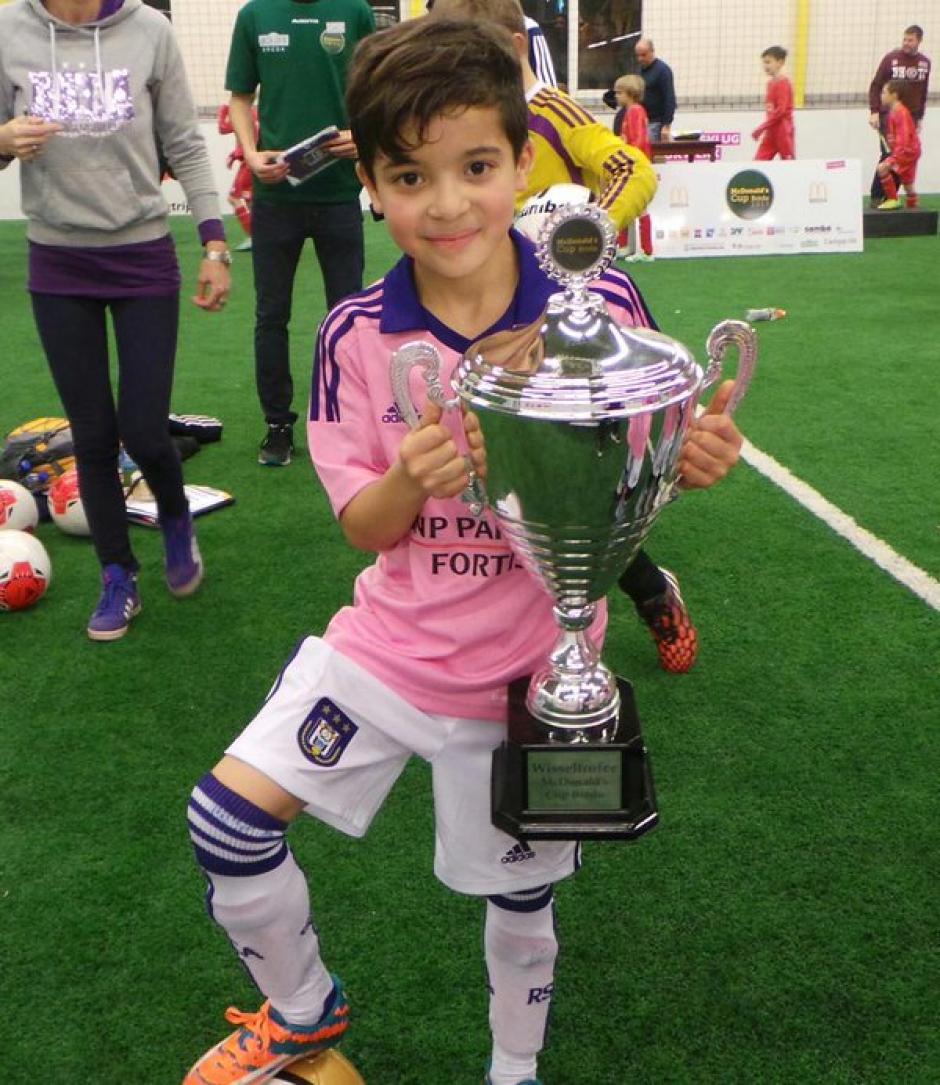 Rayane Bounida juega en el Anderlecht de Bélgica, (Foto: Twitter)