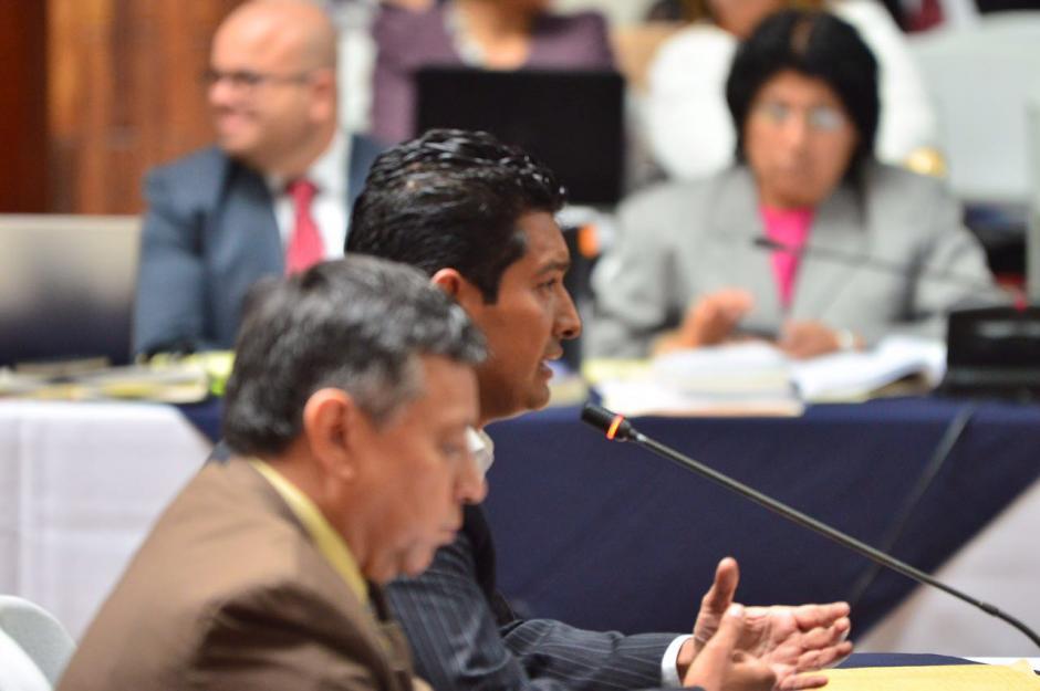 Rudy Gallardo, director suspendido del Renap, declara y se exculpa de los cargos. (Foto: Jesús Alfonso/Soy502)