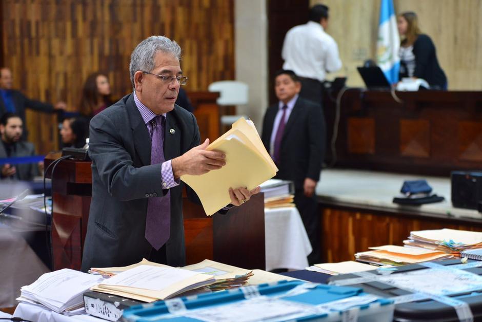 El juez Miguel Ángel Gálvez podría decidir este lunes si liga a proceso a los señalados. (Foto: Archivo/Soy502)