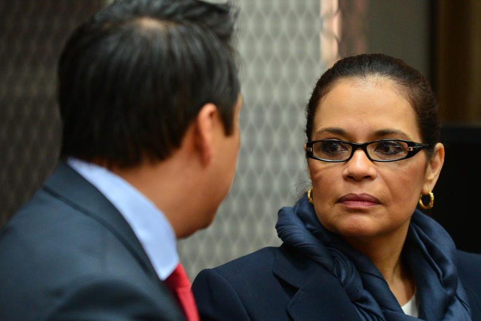 En las audiencia programadas a partir del 7 de marzo, también debe estar presente la exvicepresidenta Roxana Baldetti, a quien el MP vincula como cabecilla de la red La Línea. (Foto: Archivo/Soy502)