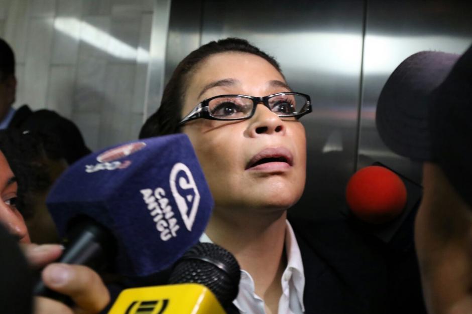 La audiencia fue suspendida para que Baldetti busque a un nuevo abogado. (Foto: Alejandro Balán/Soy502)
