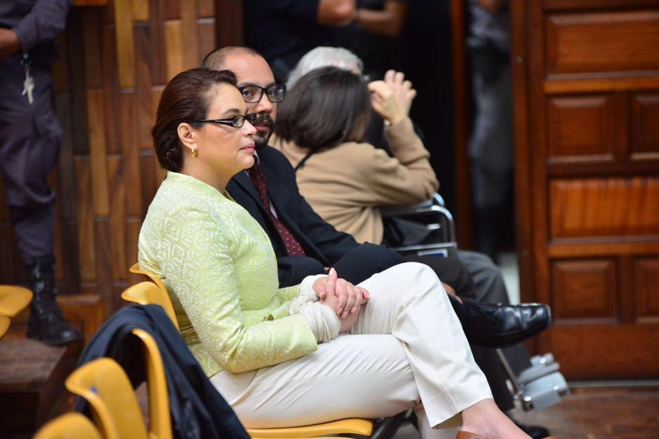 Este martes Roxana Baldetti luce un nuevo peinado. (Foto: Jesús Alfonso/Soy502)