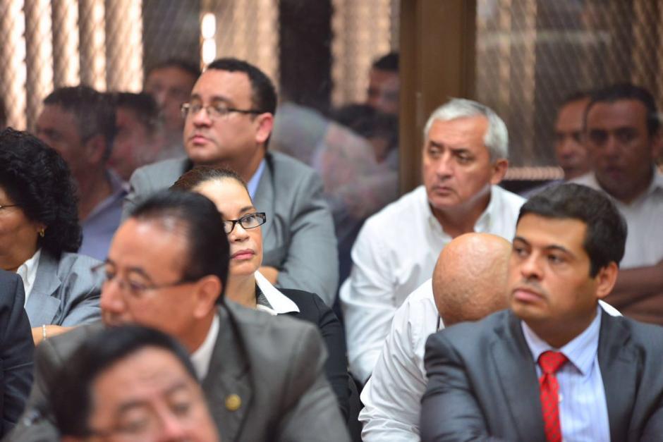 Los dos exmandatarios están vinculados en el caso Cooptación del Estado.  (Foto: Wilder López/Soy502)
