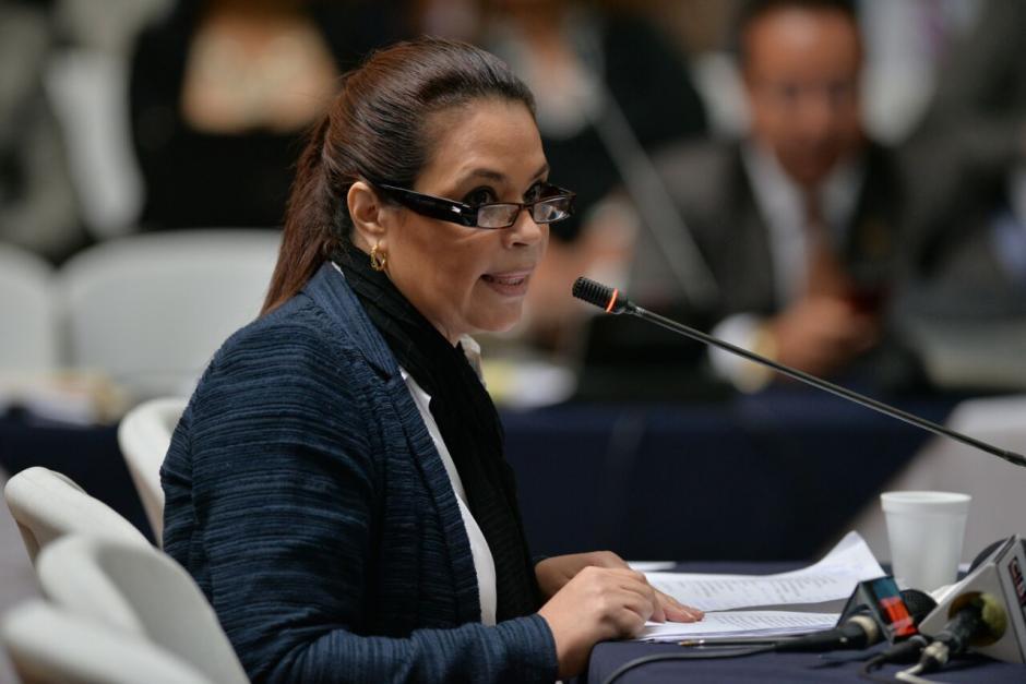 La exvicemandataria habló por casi una hora ante el juez. (Foto: Wilder López/Soy502)