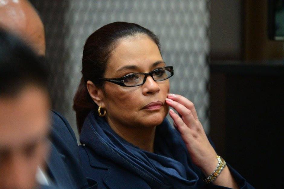 Baldetti enfrenta varios procesos por supuestos actos de corrupción durante su gestión. (Foto: Archivo Soy502)