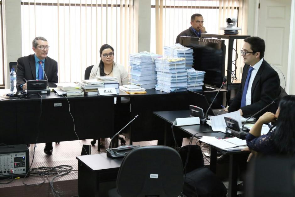El juzgado C de Mayor Riesgo suspendió la audiencia porque uno de los acusados no se presentó. (Foto: Alejandro Balán/Soy502)