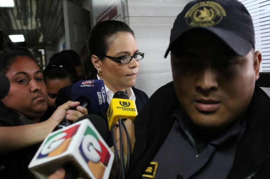 La exvicepresidenta Roxana Baldetti informó que no tiene abogado defensor en el caso Lago de Amatitlán. (Foto: Alejandro Balán/Soy502)