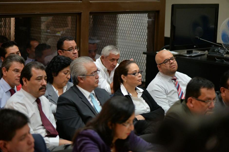 Al finalizar la audiencia fue retirada por su abogado. (Foto: Wilder López/Soy502)