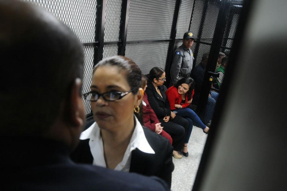 Por complicaciones de salud, Baldetti pide que sea llevada de nuevo a Santa Teresa. (Foto: Alejandro Balan/Soy502)