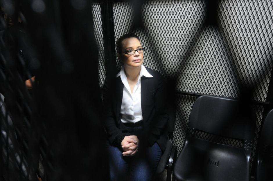 Esta vez aguardó en la carceleta del juzgado. (Foto: Alejandro Balan/Soy502)