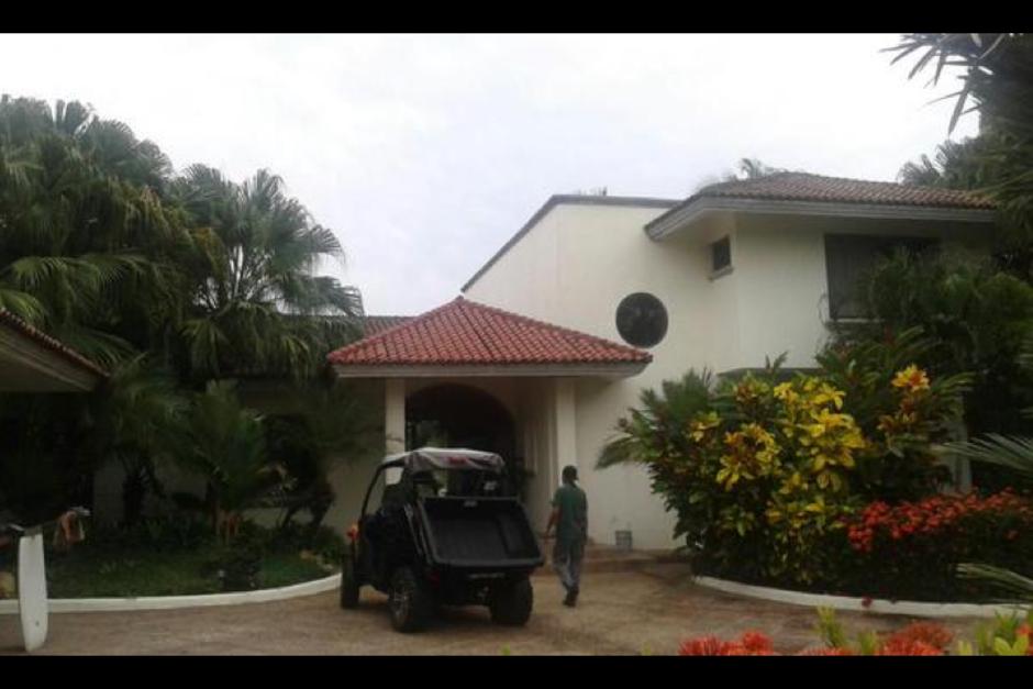 El mantenimiento de la casa está a cargo del personal del SENABED (Foto: MP)