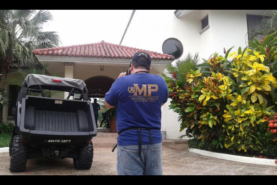 La casa ahora se encuentra bajo control del SENABED (Foto: MP)