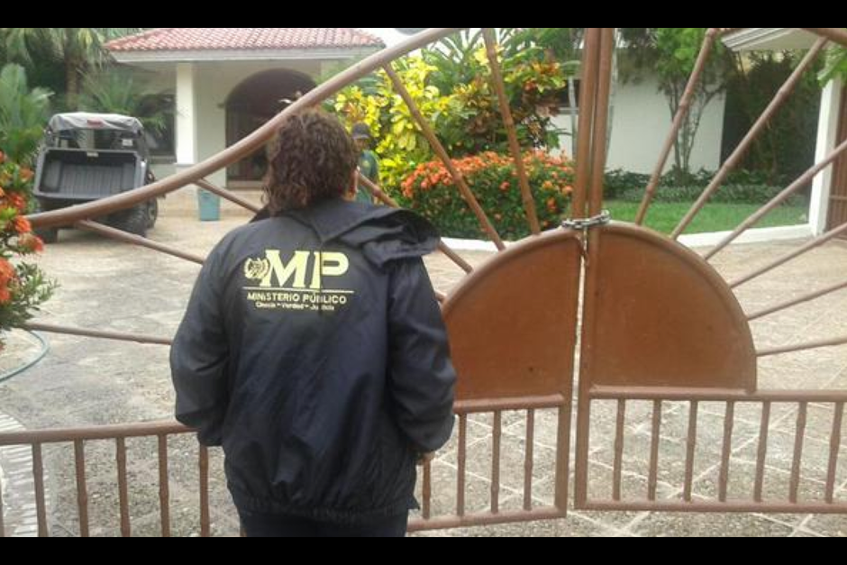 La propiedad fue inmovilizada el 13 de octubre de 2015 (Foto:MP)