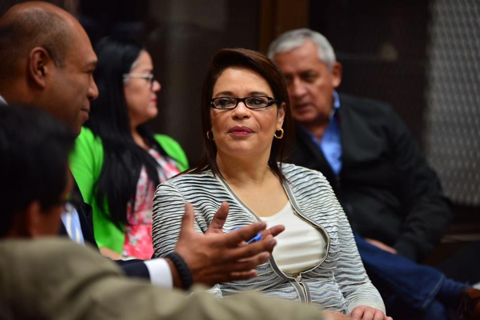 La exvicepresidenta regresó a los tribunales con una sorpresa. (Foto: Jesús Alfonso/Soy502)