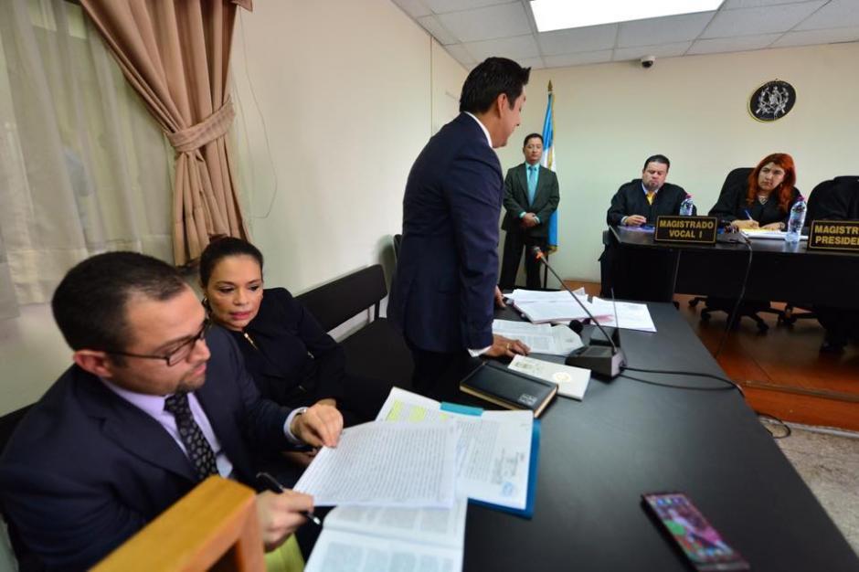 Baldetti pidió que se le retire el embargo a sus bienes. (Foto: Jesús Alfonso/Soy502)