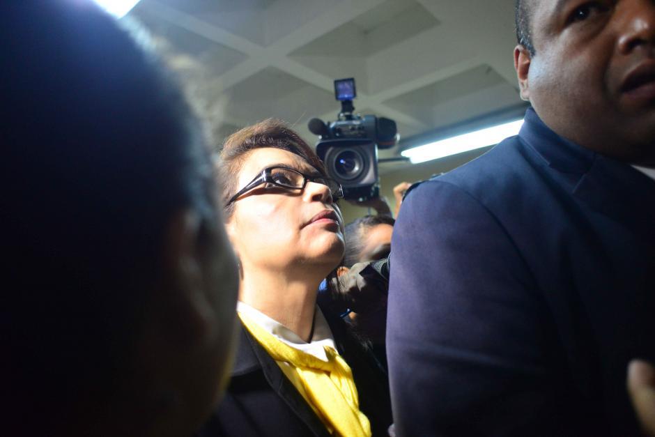 Este es el tercer proceso penal que enfrenta la exvicepresidenta. (Foto: Wilder López/Soy502)