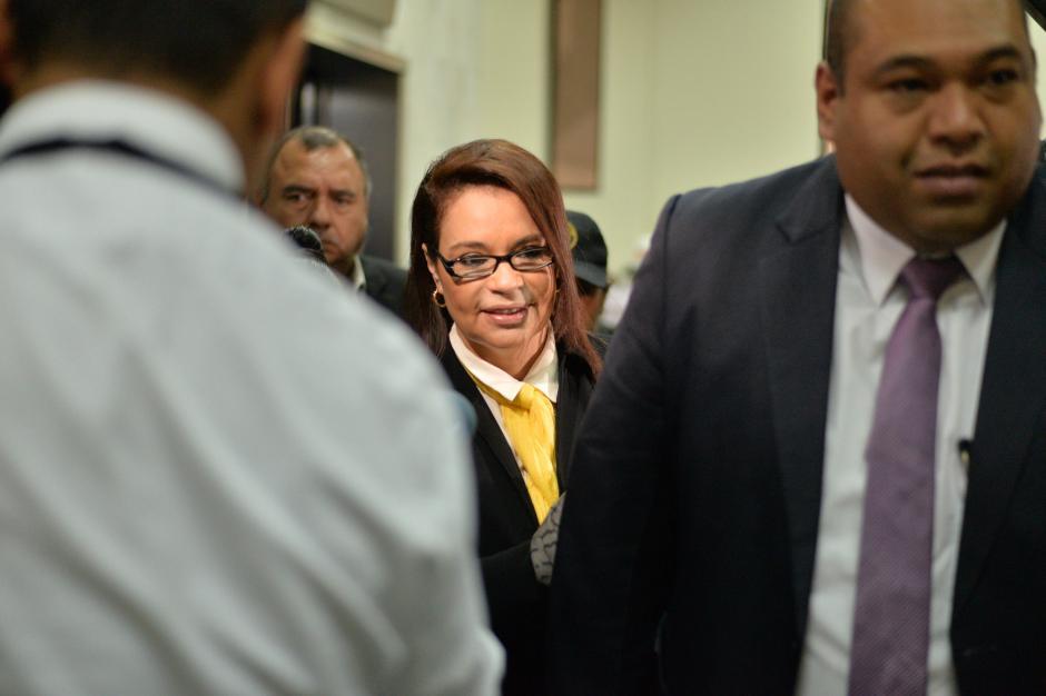 La exvicepresidenta está ligada a los casos: Lago de Amatitlán, TCQ y La Línea. (Foto: Wilder López/Soy502)