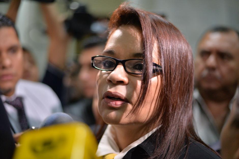 La imagen de la exvicepresidenta ha sido bien cuidada aún estando en prisión. (Foto: Wilder López/Soy502)