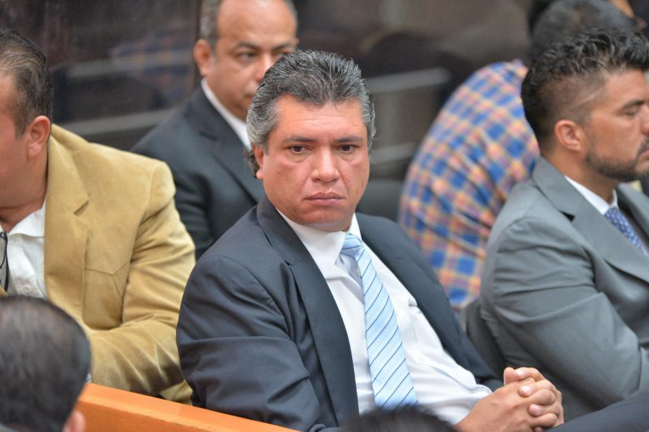 También fue trasladado Gustavo Martínez, exsecretario privado la Presidencia y yerno de Otto Pérez. (Foto: Wilder López/Soy502)